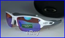 Oakley Flak 2.0 Sunglasses OO9271-10 Polished White Frame WithPRIZM Golf Lens (AF)