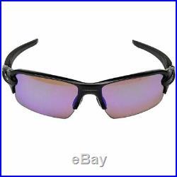 Oakley Flak 2.0 Sunglasses Polished Black withPrizm Golf Lens Men OO9271 09