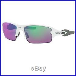 Oakley Flak 2.0 Sunglasses Polished White withPrizm Golf Lens Men OO9271 10