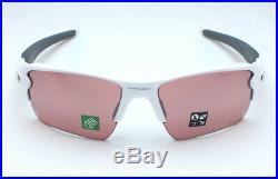 Oakley Flak 2.0 XL OO9188-B159 Sunglasses Polished White/Prizm Dark Golf
