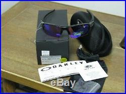 Oakley Flak 2.0 XL Polished Black Prizm Golf Sunglasses BRAND NEW withXtras