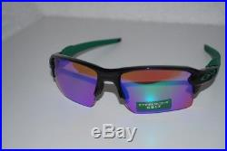 Oakley Flak 2.0 XL Prizm Sunglasses OO9188-7059 Polished Black/Prizm Golf NEW