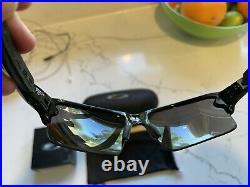 Oakley Flak 2.0 XL Prizm Sunglasses Polished Black With Prizm Golf+ Grey lenses