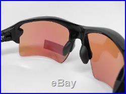 Oakley Flak 2.0 XL Sunglasses OO9188-05 Polished Black Frame With PRIZM GOLF Lens