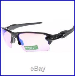 Oakley Flak 2.0 XL Sunglasses OO9188-05 Polished Black Prizm Golf BNIB