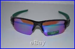 Oakley Flak 2.0 XL Sunglasses OO9188-7059 Polished Black/Prizm Golf NEW