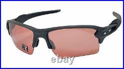 Oakley Flak 2.0 XL sunglasses Steel Frame Prizm Dark Golf Lens OO9188 NEW