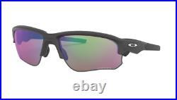 Oakley Flak Draft Sunglasses OO9373 0470 Steel Frame Prizm Golf Lens