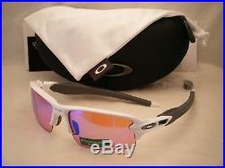 Oakley Flak Jacket 2.0 Polished White w Prizm Golf Lens (oo9295-06)