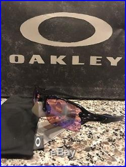 Oakley Flak Jacket 2.0 XL Polished Black/Prizm Golf Sunglasses OO9188-05 GREAT