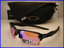 Oakley Flak Jacket 2.0 XL Polished Black w Prizm Golf Lens (oo9188-05)