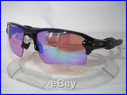 Oakley Flak Jacket 2.0 XL Sunglasses Oo9188-05 Polished Black / Prizm Golf