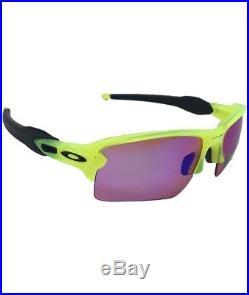 Oakley Flak Jacket XLJ 9188-11 Uranium / Prizm Golf 59mm Sunglasses
