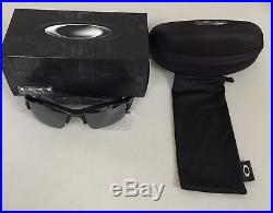 Oakley Flak Jacket XLJ Sunglasses Jet Black Frame / Black Lens 03-915