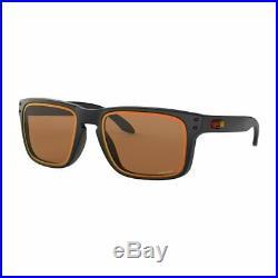 Oakley Golf Holbrook Matte Black/Prizm Bronze Lens Sunglasses New
