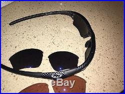 Oakley Golf Jacket Sunglasses Specific 3 Sets Of Lenses Black Red Blue