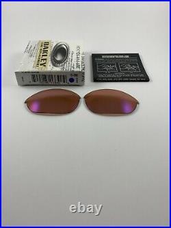 Oakley Half Jacket 1.0 G30 Iridium Golf Replacement Lenses+Box 13-390 NEW RARE