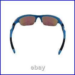 Oakley Half Jacket 2.0 Blue Prizm Golf Lens Sunglasses Customs (Authentic)