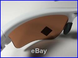 Oakley Half Jacket 2.0 Polished White 9154-6362 Sunglasses Prizm Dark Golf Lens