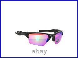 Oakley Half Jacket 2.0 XL 9154-49 Polished Black Prizm Golf Sunglasses