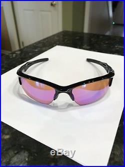 Oakley Half Jacket 2.0 XL PRIZM GOLF/polished black sunglasses BRAND NEW IN BOX