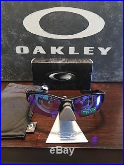 Oakley Half Jacket 2.0 XL Polished Black/Prizm Golf Sunglasses OO9154-49 LN Cond
