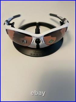 Oakley Half Jacket 2.0 XL Sunglasses Polished White Prizm Dark Golf OO9154-6362