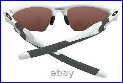 Oakley Half Jacket XL White Frame Prizm Dark Golf Lens Sunglasses 0OO9154