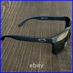 Oakley Holbrook Asian Fit Polarized Prism Black Sunglasses Matte Fishing Golf