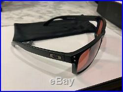 Oakley Holbrook Matte Black Frame, Prizm Golf Lens Sunglasses OO9102 Free Ship