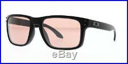 Oakley Holbrook OO9102-K055 Sunglasses Matte Black/Prizm Dark Golf