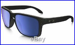 Oakley Holbrook Sonnenbrille Matt Schwarz Rahmen Ice Iridium Gläser OO9102-52