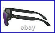 Oakley Holbrook Sunglasses Matte Black Frame Ice Iridium Lens-OO9102-52