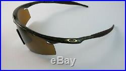 Oakley M Frame Gold X/gold Iridium Strike Vented Golf+Box 09-590 David Duval NEW
