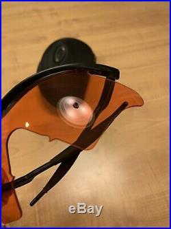 Oakley M Frame PGA Tour Golf Sunglasses Amber Golf Lenses Sweep