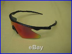 Oakley M-Frame PRO S Fire Lens Cycling Golf Sunglasses + Case