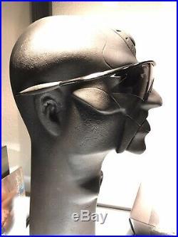 Oakley M Frame jet Black with slatte Iridium GOLF Sweep Romeo Juliet Penny