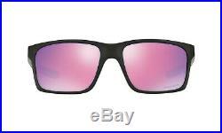 Oakley Mainlink Sunglasses OO 9264-23 Polished Black Prizm Golf Iridium Lens