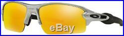 Oakley Men's Flak 2.0 OO9295-02 Non-Polarized Iridium Rectangular Sunglasses, Si