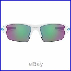 Oakley Men's Flak 2.0 Sunglasses Polished White withPrizm Golf Lens OO9271 17