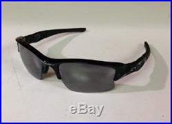 Oakley Men's Flak Jacket Non-Polarized XLJ Sunglasses, Jet Black Frame/Black Lens