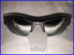 3d7bf958b2652 Oakley Men s Flak Jacket XLJ Polarized Sunglasses Jet Black Iridium 12-903