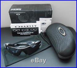 Oakley Men's Radar Path Golf Sunglasses Polished Black/Grey