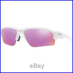 Oakley Mens Flak Draft Asian Fit Sunglasses, Polished White/Prizm Golf, One Size