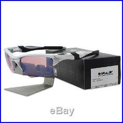 8c5eae57a3 Oakley OO 9154-33 HALF JACKET 2.0 XL Silver G30 Iridium Mens Golf Sunglasses