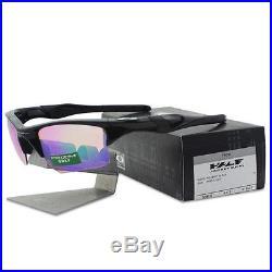 Oakley OO 9154-49 HALF JACKET 2.0 XL Polished Black Prizm Golf Mens Sunglasses