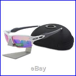 Oakley OO 9295-06 FLAK 2.0 Polished White Prizm Golf Mens Sport Sunglasses