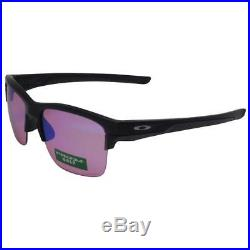 a2bddc72439 Oakley OO 9316-05 THINLINK Matte Black Prizm Golf Mirror Lens Mens  Sunglasses