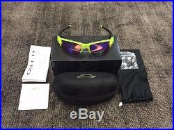 Oakley OO9188-11 Flak Jacket 2.0, Matte Uranium, Prizm Golf XL Sunglasses