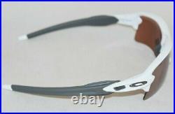 Oakley OO9188-B159 Flak 2.0 XL Polished White / Prizm Dark Golf Lens. New In Box
